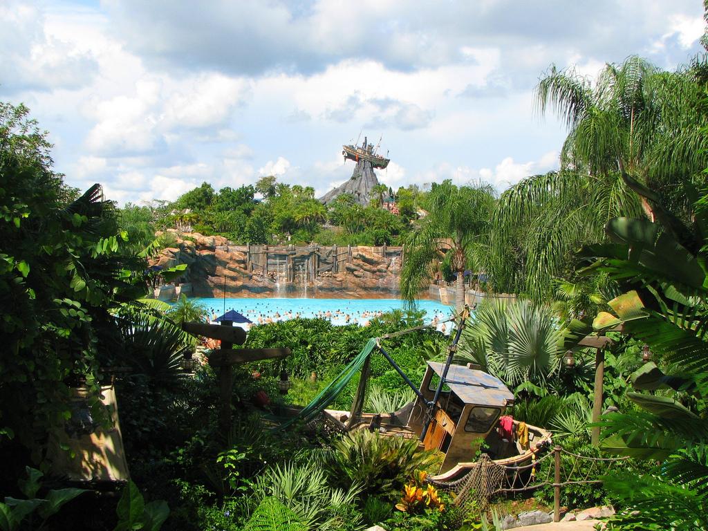 В аквапарке «Лагуна тайфунов»