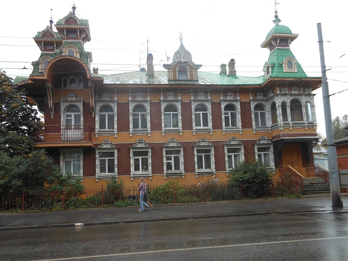Дом художников в Рыбинске.