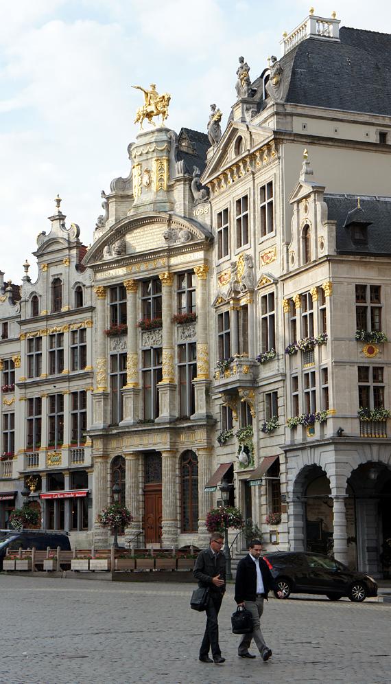 Здание в Брюсселе, Бельгия