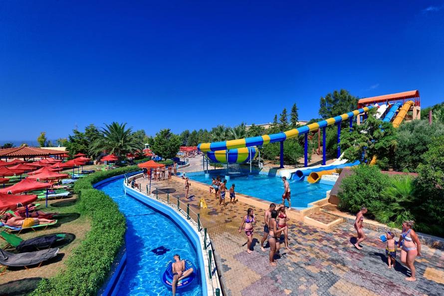 Ленивая река, аквапарк Анополиса Watercity, Крит