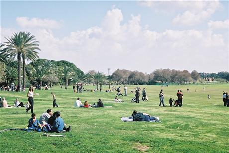 Парк отдыха в Тель-Авиве.JPG