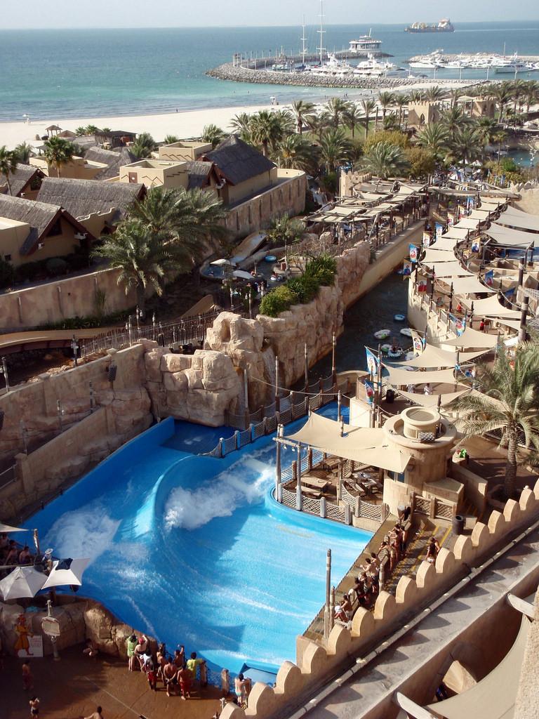 Водный парк развлечений Вайлд Вади, ОАЭ