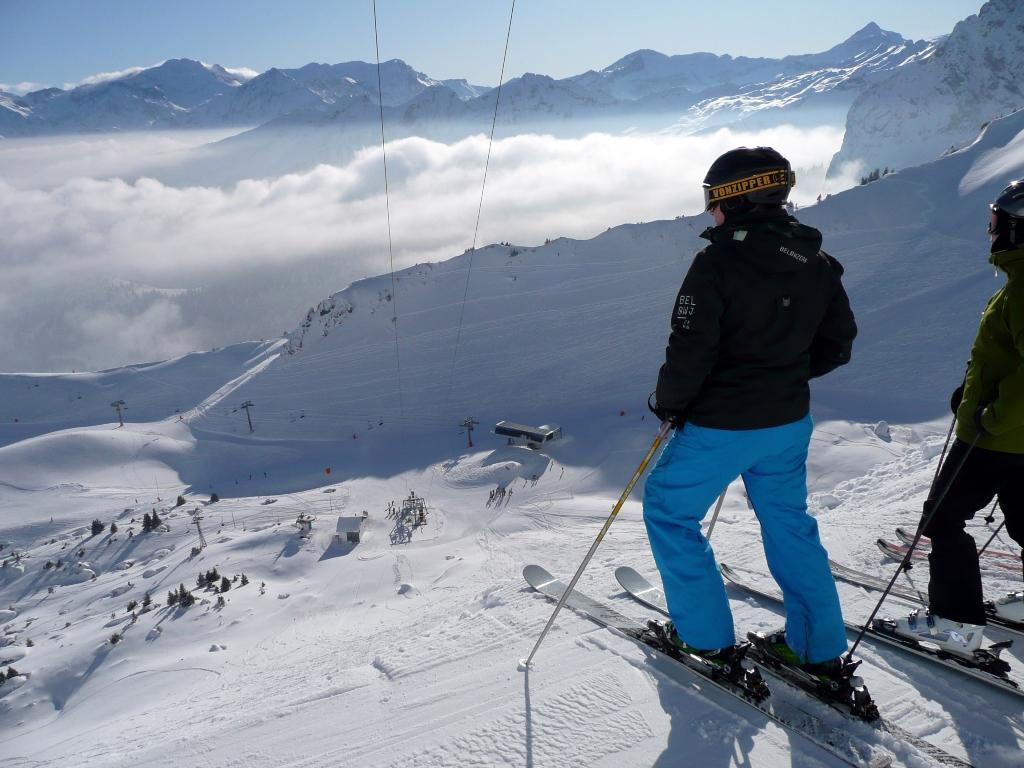 швейцария горные лыжи фото характерные