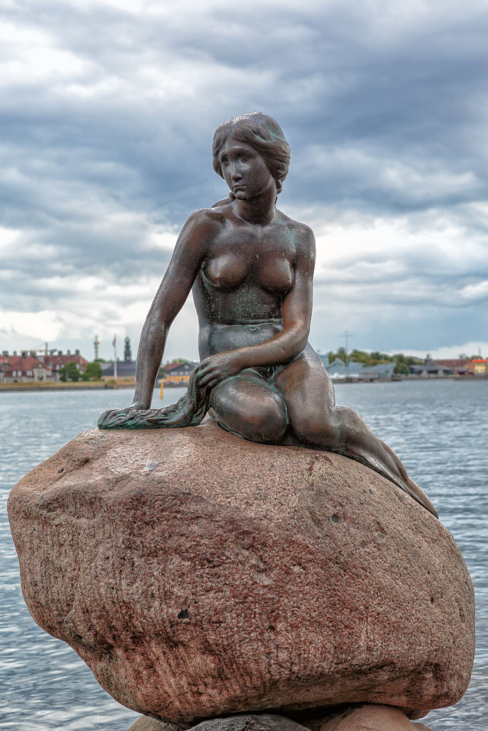 Датская достопримечательность — Русалочка