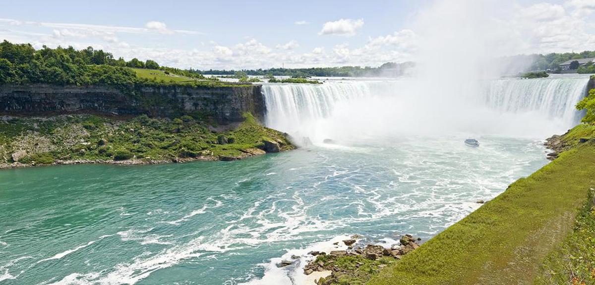 Где находится Ниагарский водопад 🚩 где находится водопад ниагара 🚩 Места отдыха