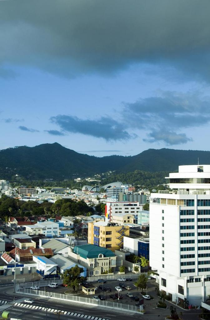 Удивительная погода на Тринидаде и Тобаго