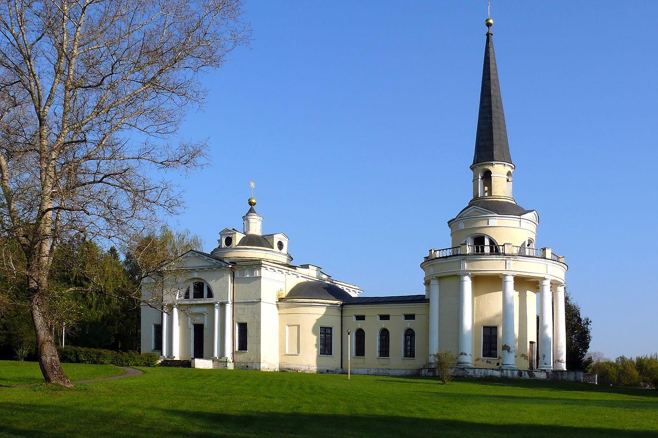 Введенское, усадебная церковь