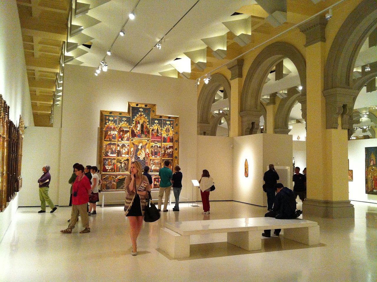 Национальный музей искусства Каталонии, экспозиция
