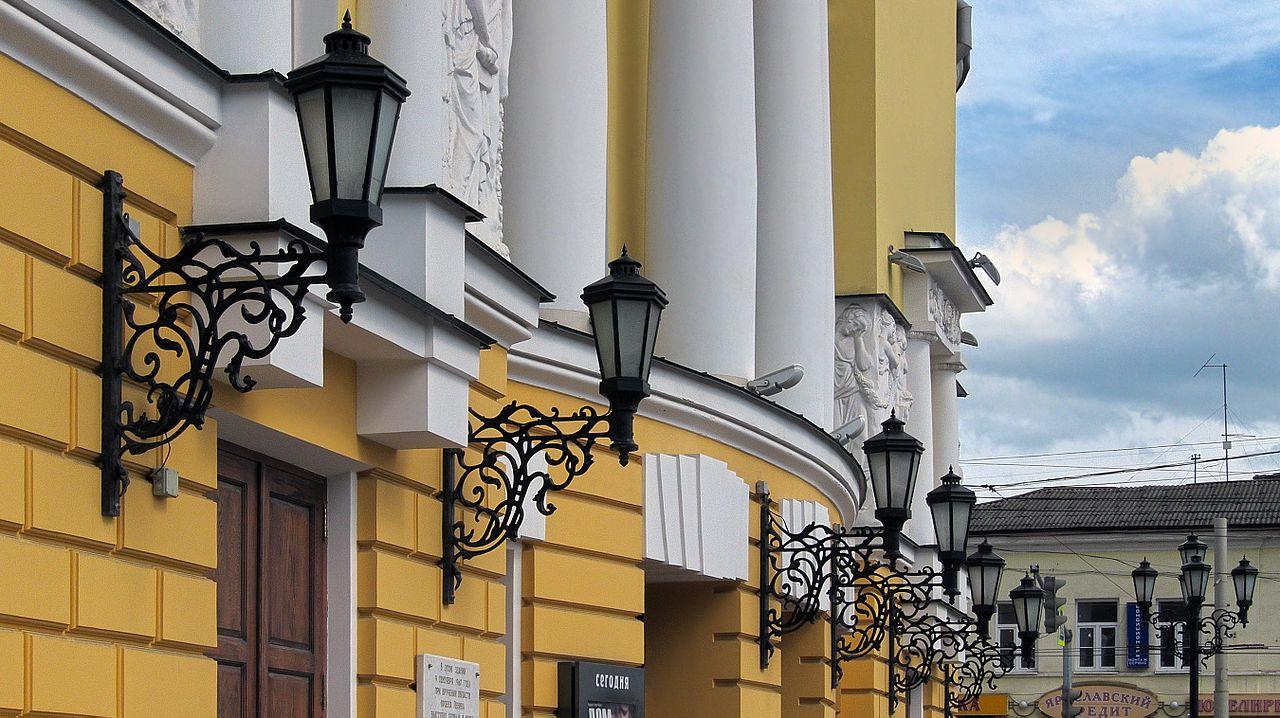 Театр драмы имени Фёдора Волкова, фонари