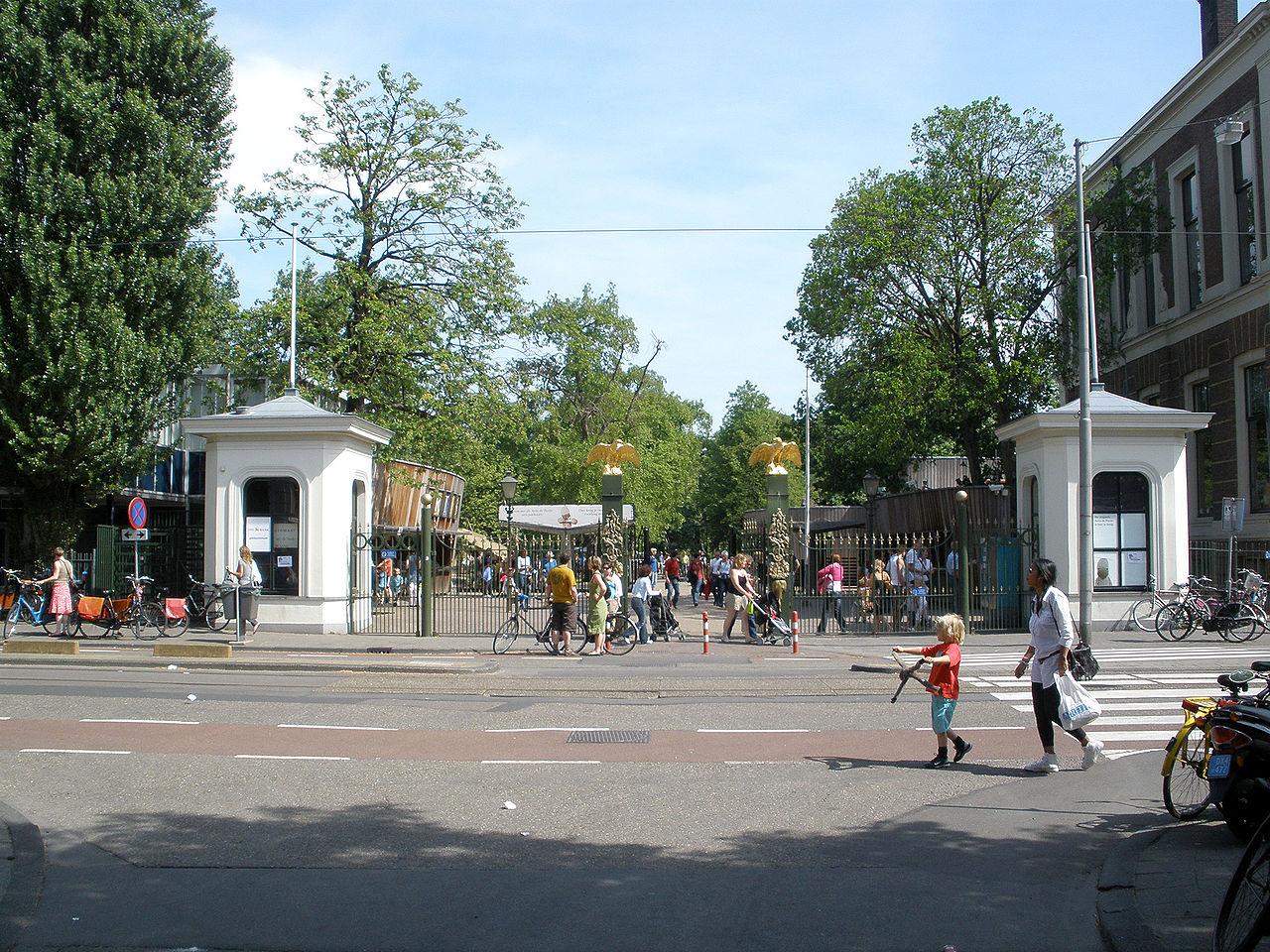 Вход в Artis Royal Zoo, зоопарк в Амстердаме