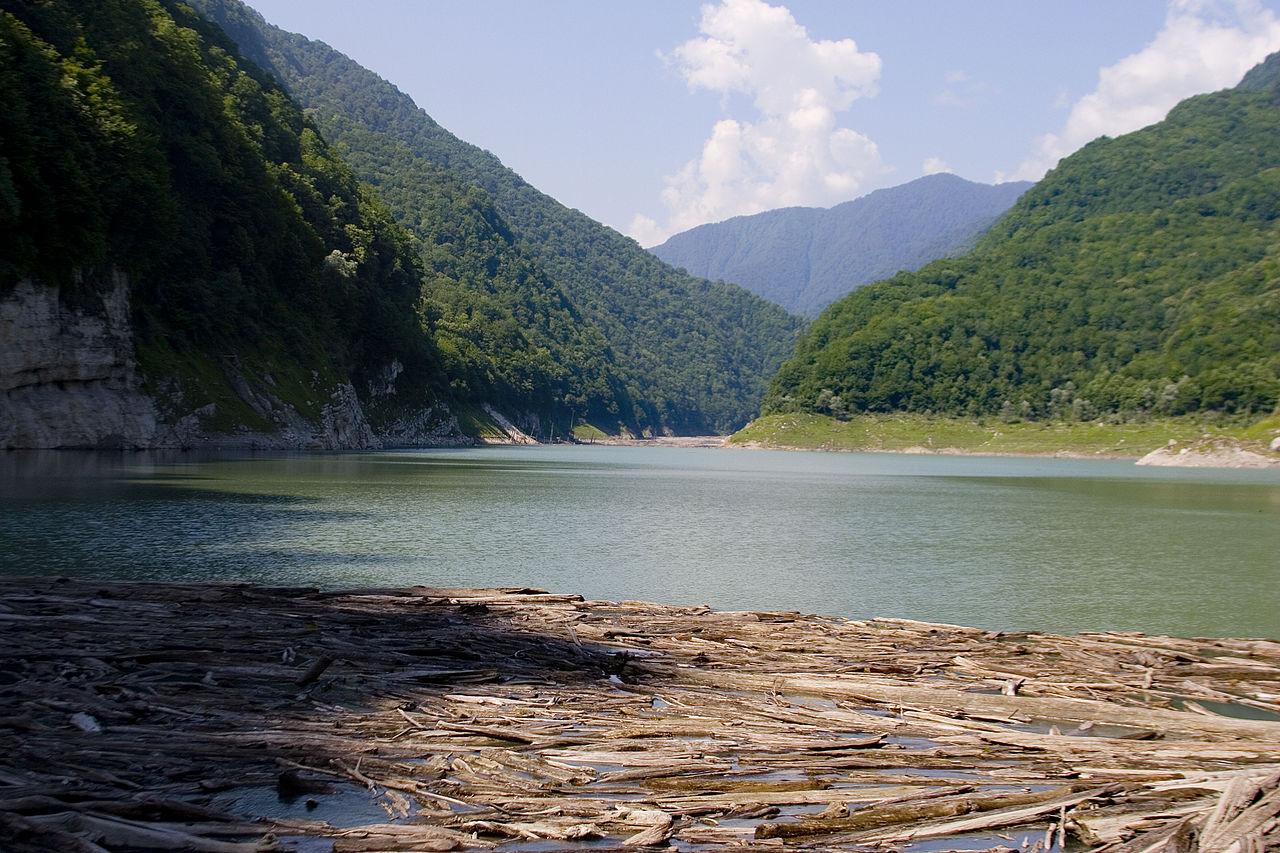 Озеро Амткел, Абхазия