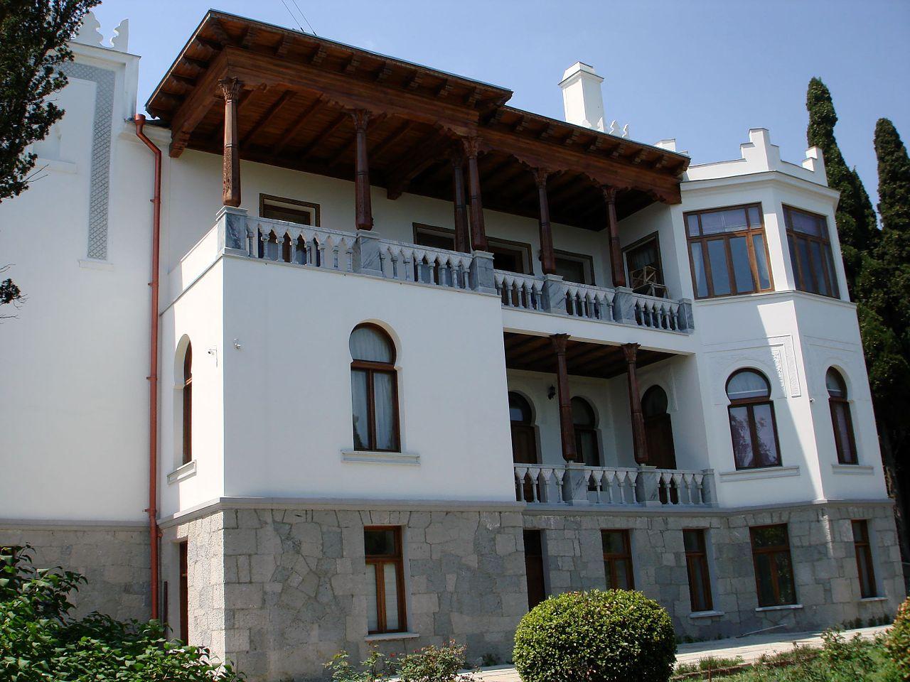 Дворец эмира Бухарского, балконы