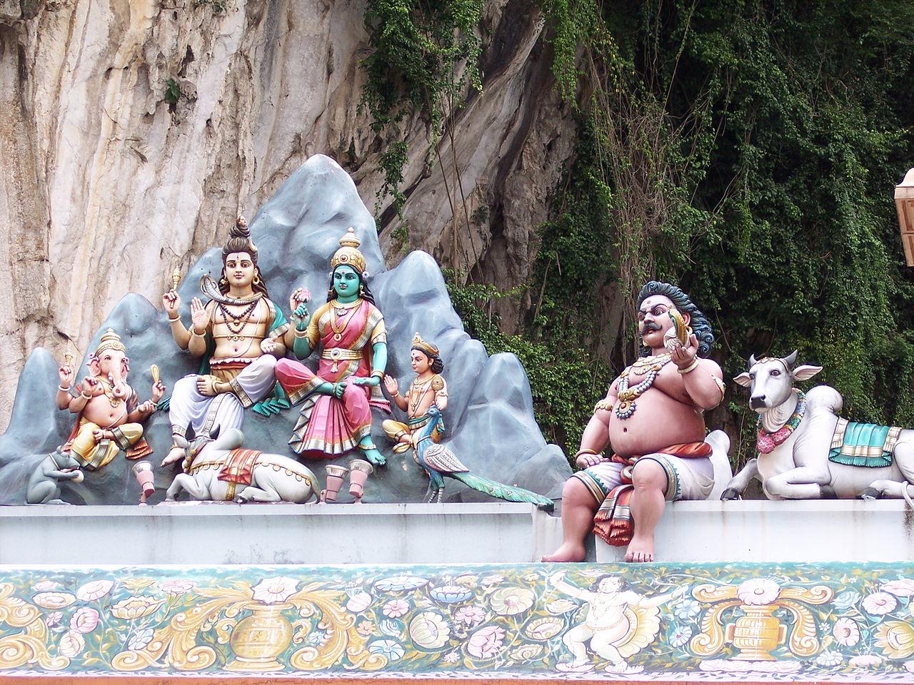 Пещеры Бату, скульптурная композиция