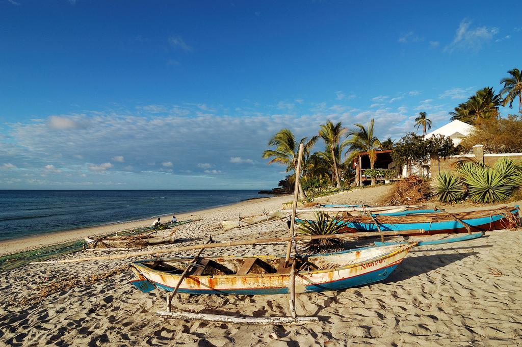 Рыбацкие лодки, Мозамбик