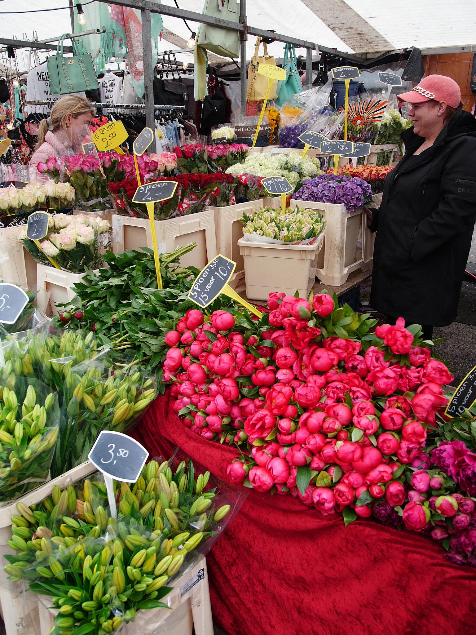 Рынок Альберта Кёйпа, магазин цветов