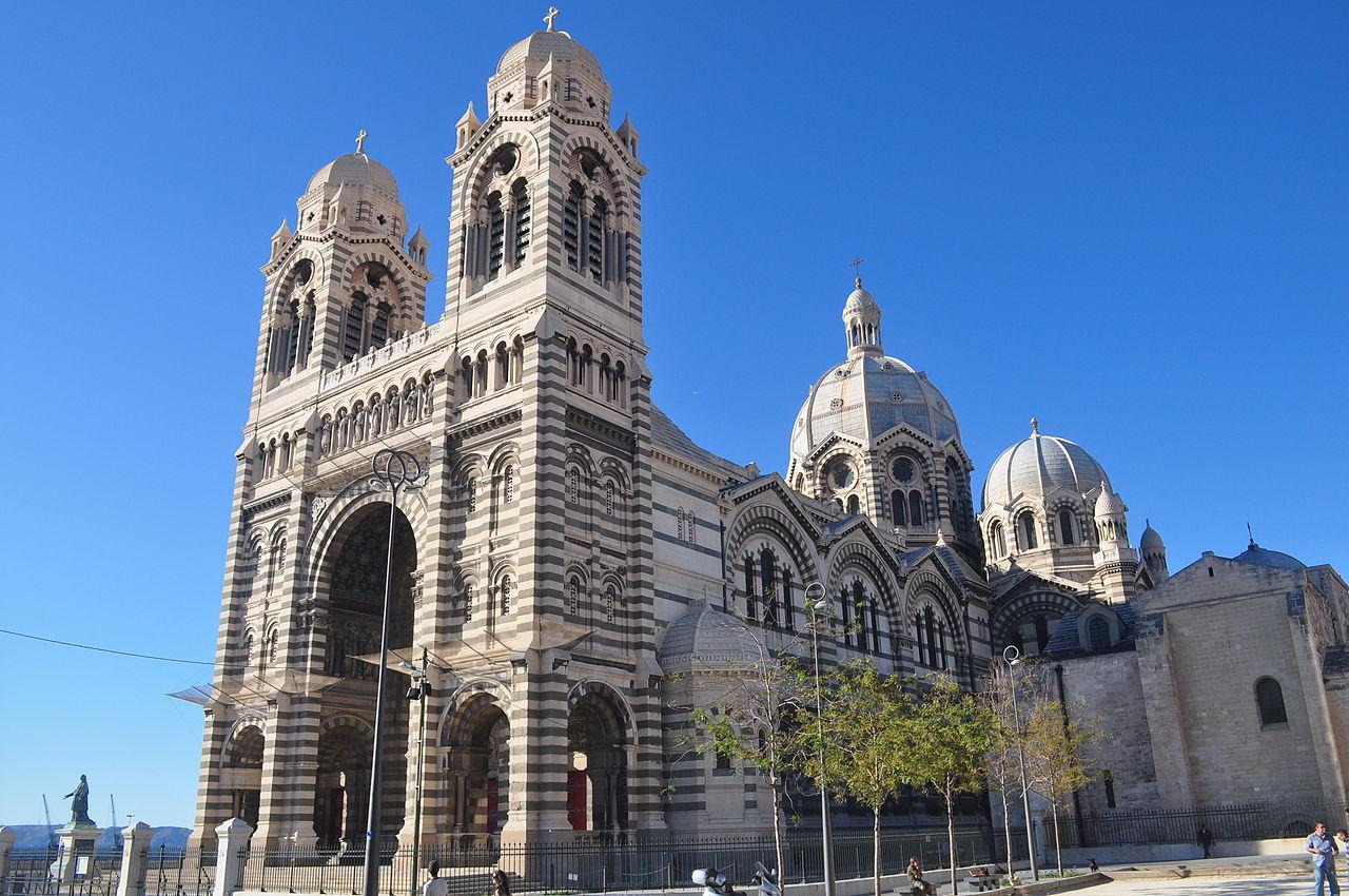 Собор Сент-Мари-Мажор в Марселе