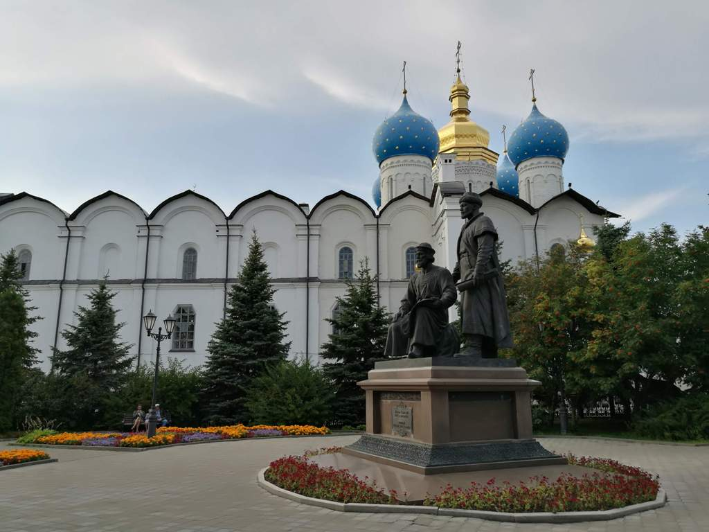 Вид на Благовещенский собор Казанского кремля, Россия