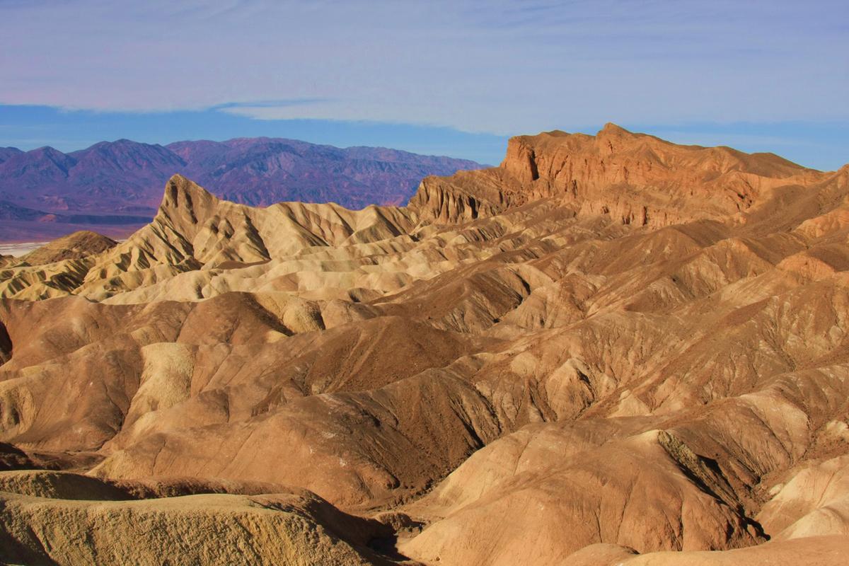 Вид на Долину Смерти