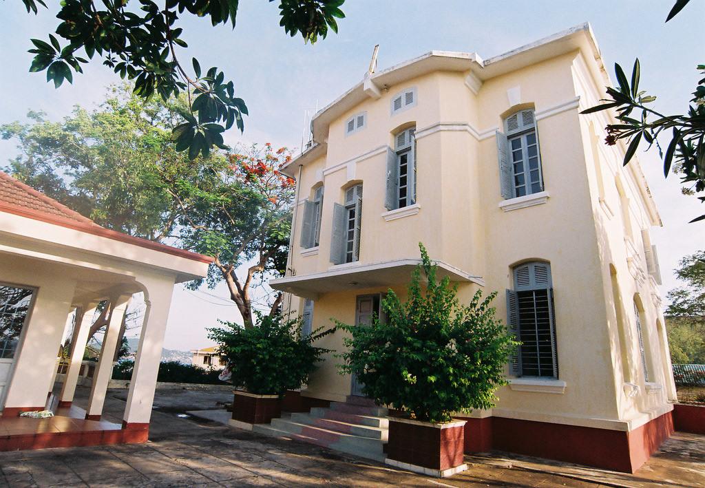 Виллы Бао Дая, пример французской колониальной архитектуры во Вьетнаме