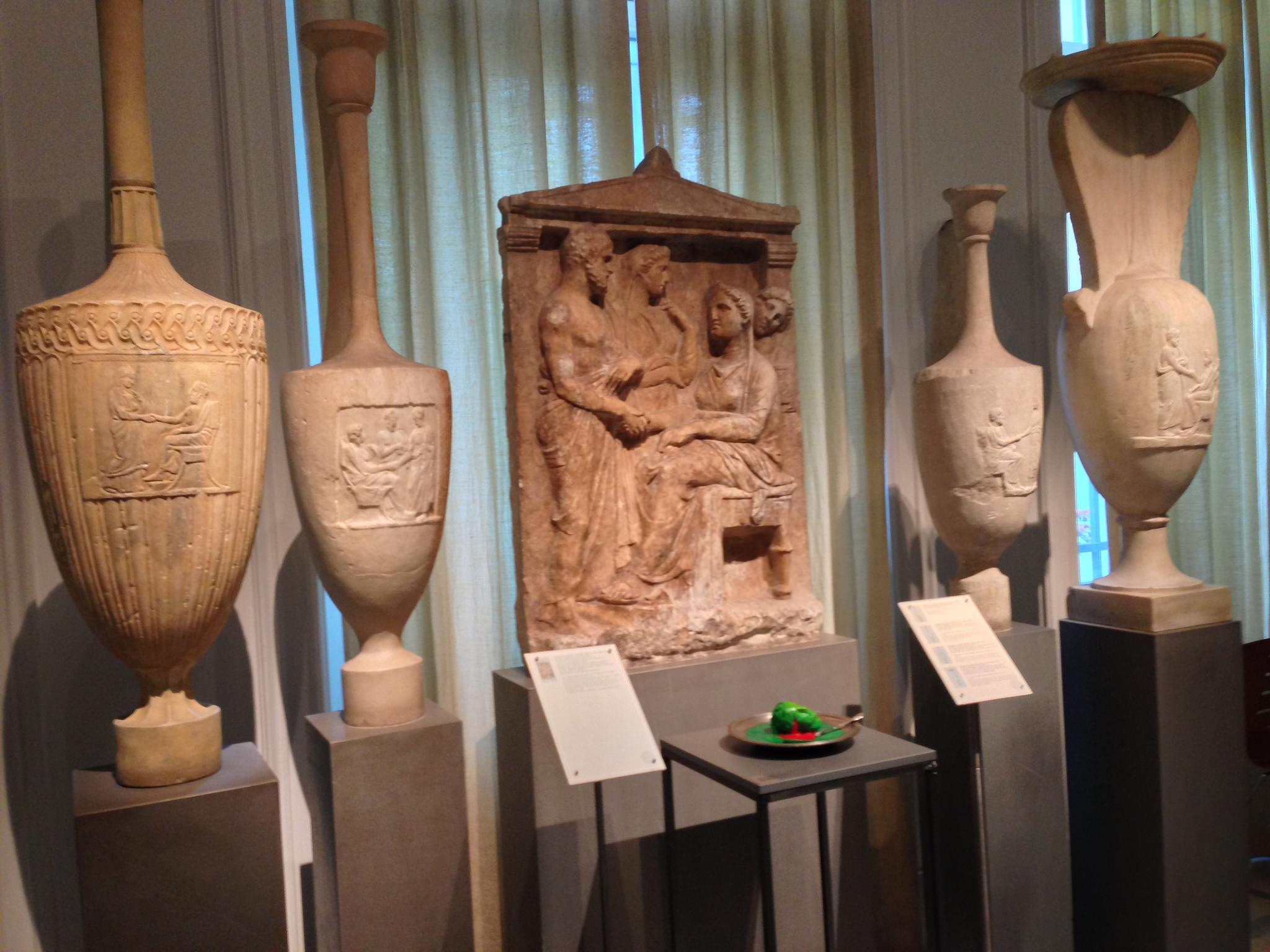Музей Бенаки, коллекция амфор
