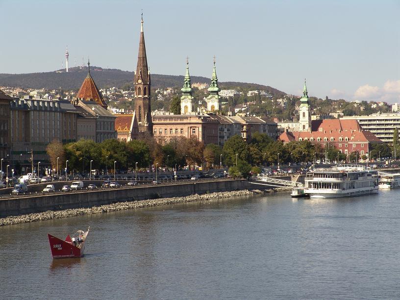 Набережная Будапешта, Венгрия