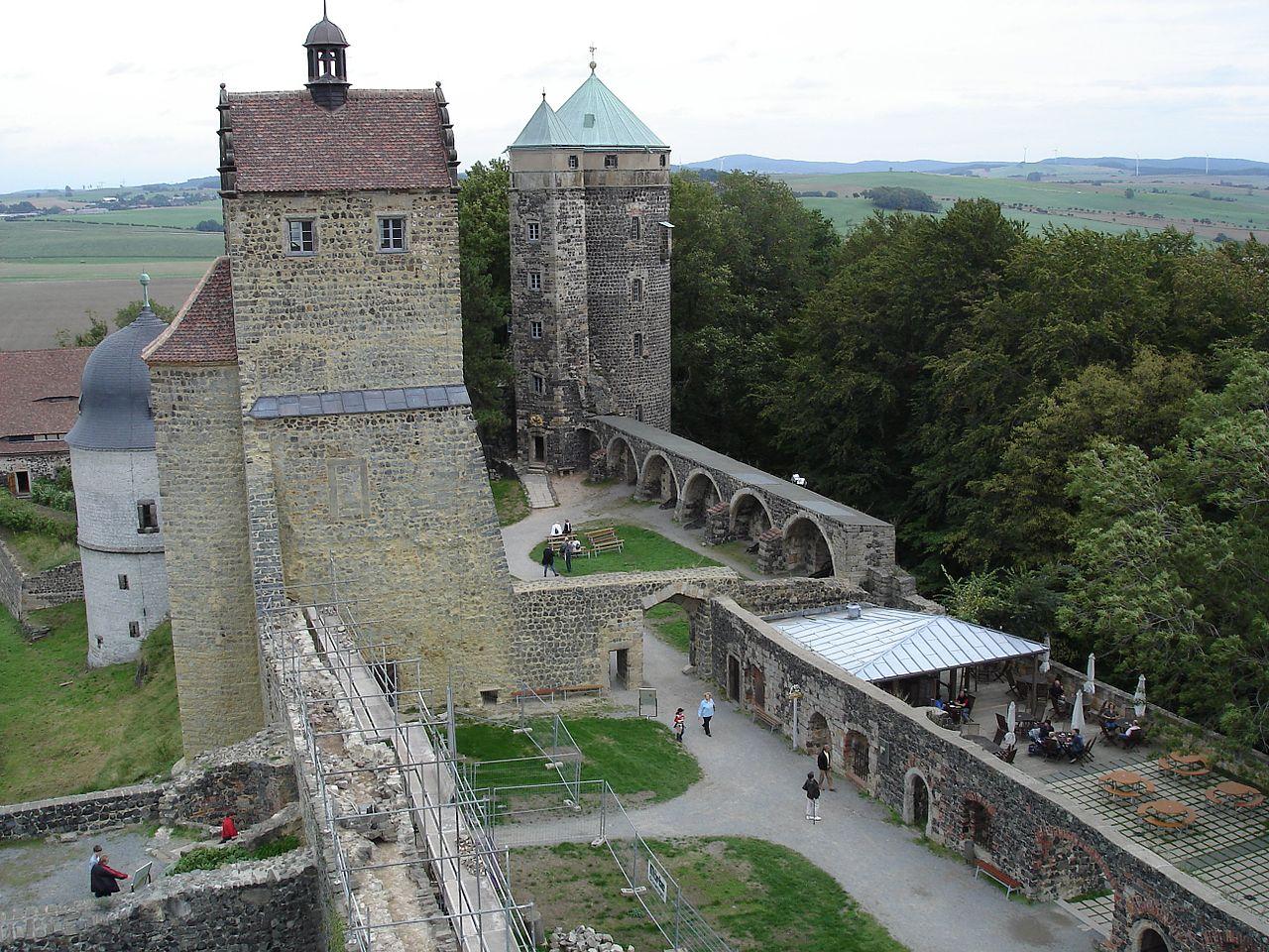 Саксонская Швейцария, крепость Штольпен