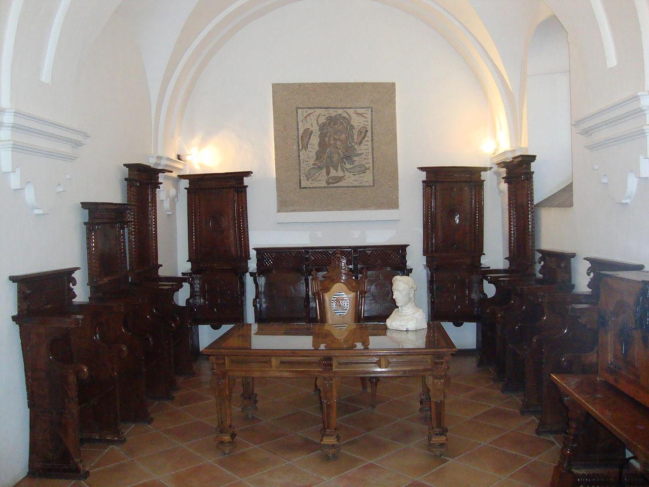 Алькасар, один из залов