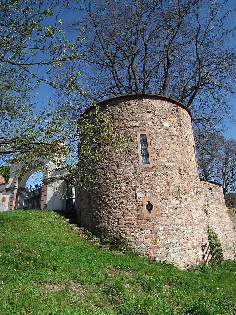 Башня у входа в аббатство Нойбург, Гейдельберг