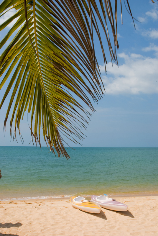 Каяки на пляже, Вьетнам.jpg