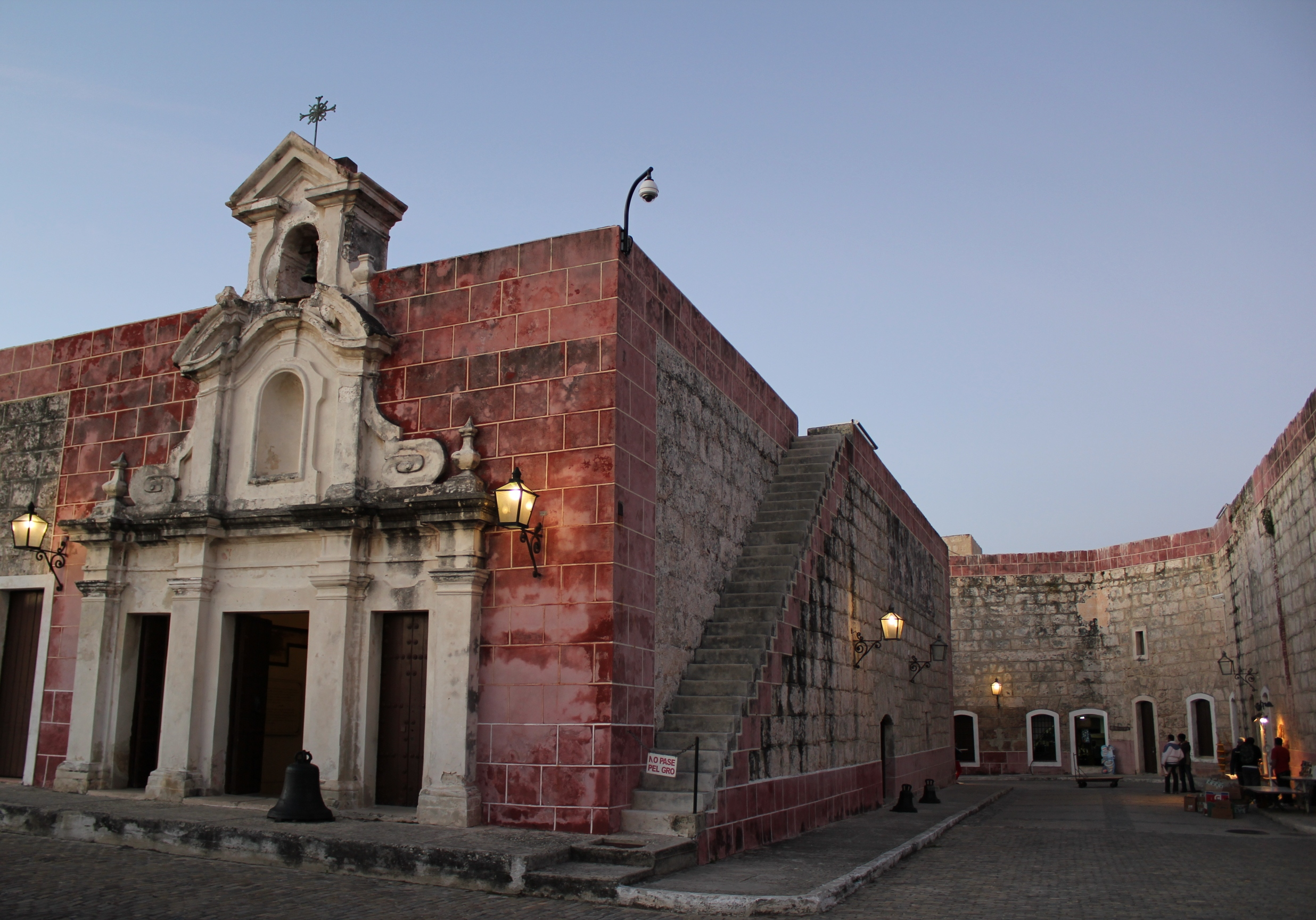 Крепость Ла-Кабанья, капелла