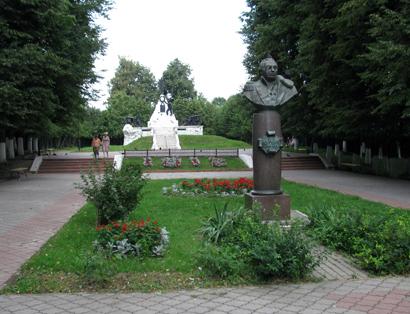 Сквер 1812 года в Малоярославце