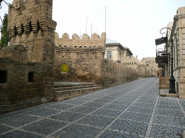 Улочки Ичери Шехер, Баку