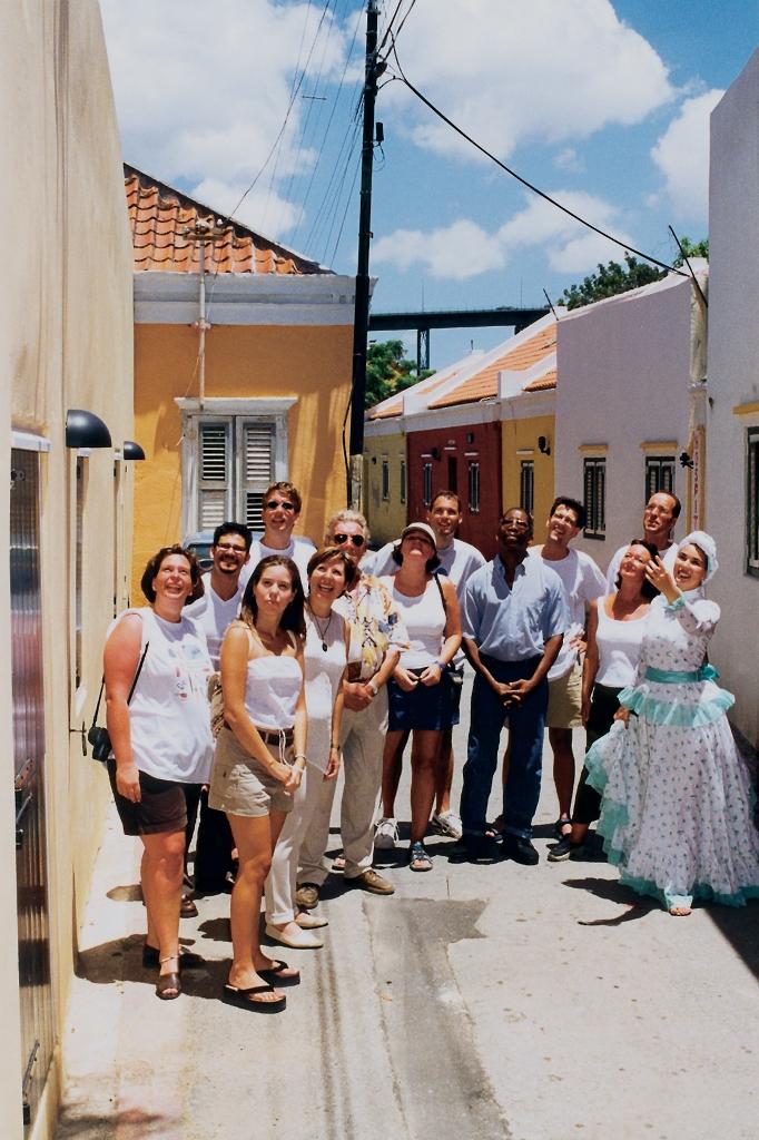 Экскурсия по городу, Кюрасао