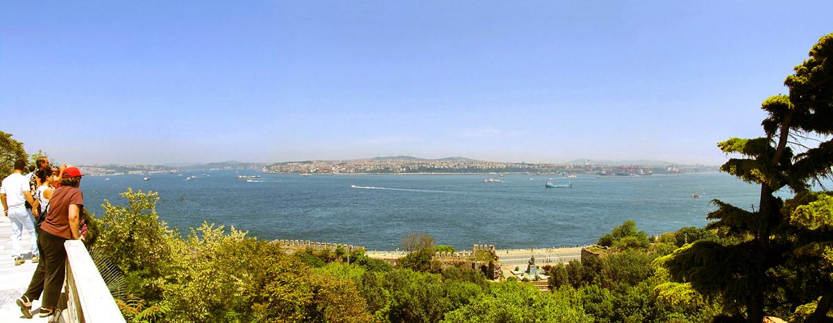 Вид на Босфор, Стамбул
