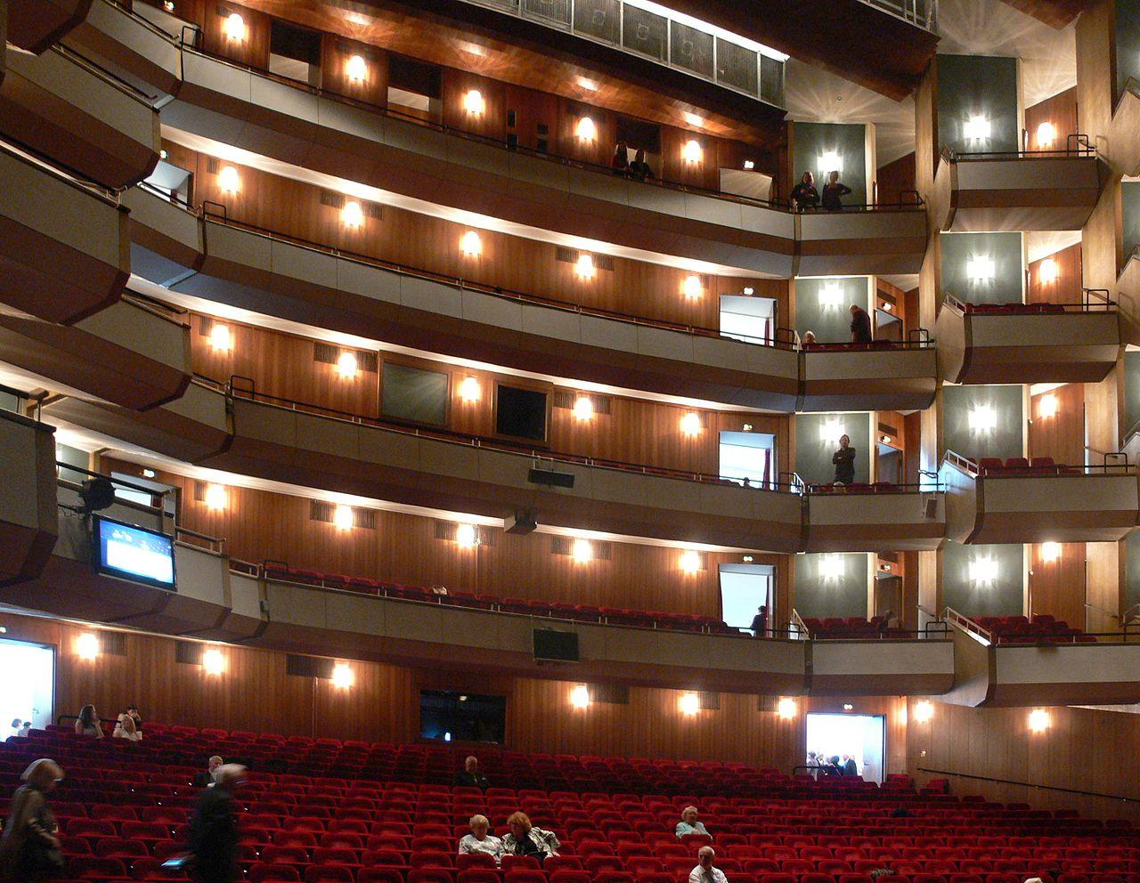 Гамбургский оперный театр, зал
