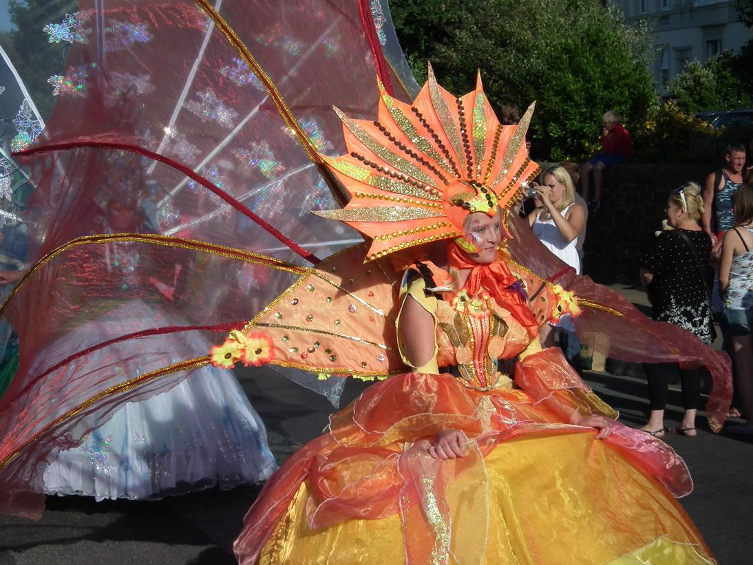 Костюмы карнавала в Виареджио