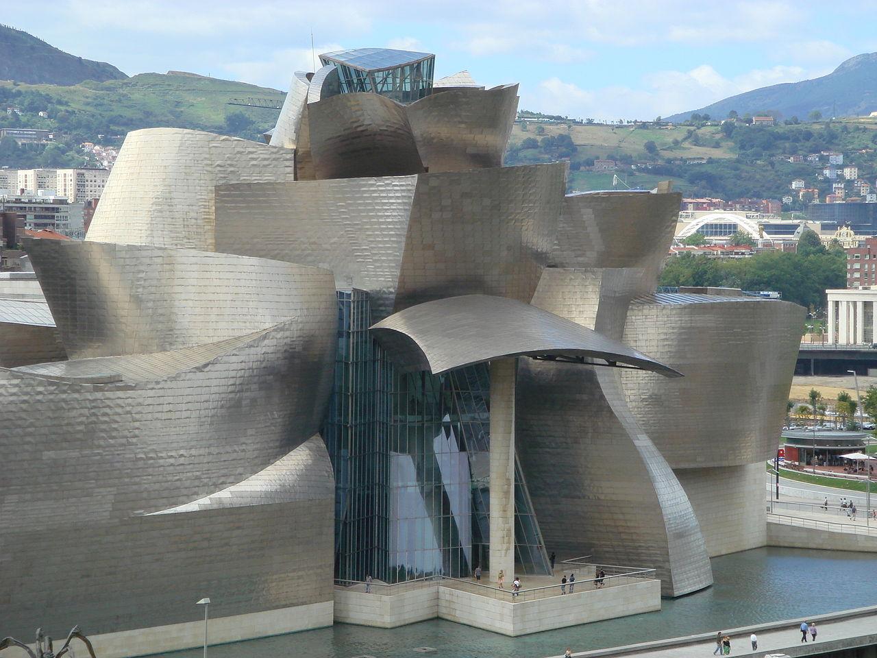 Музей Гуггенхайма в Бильбао, главный вход