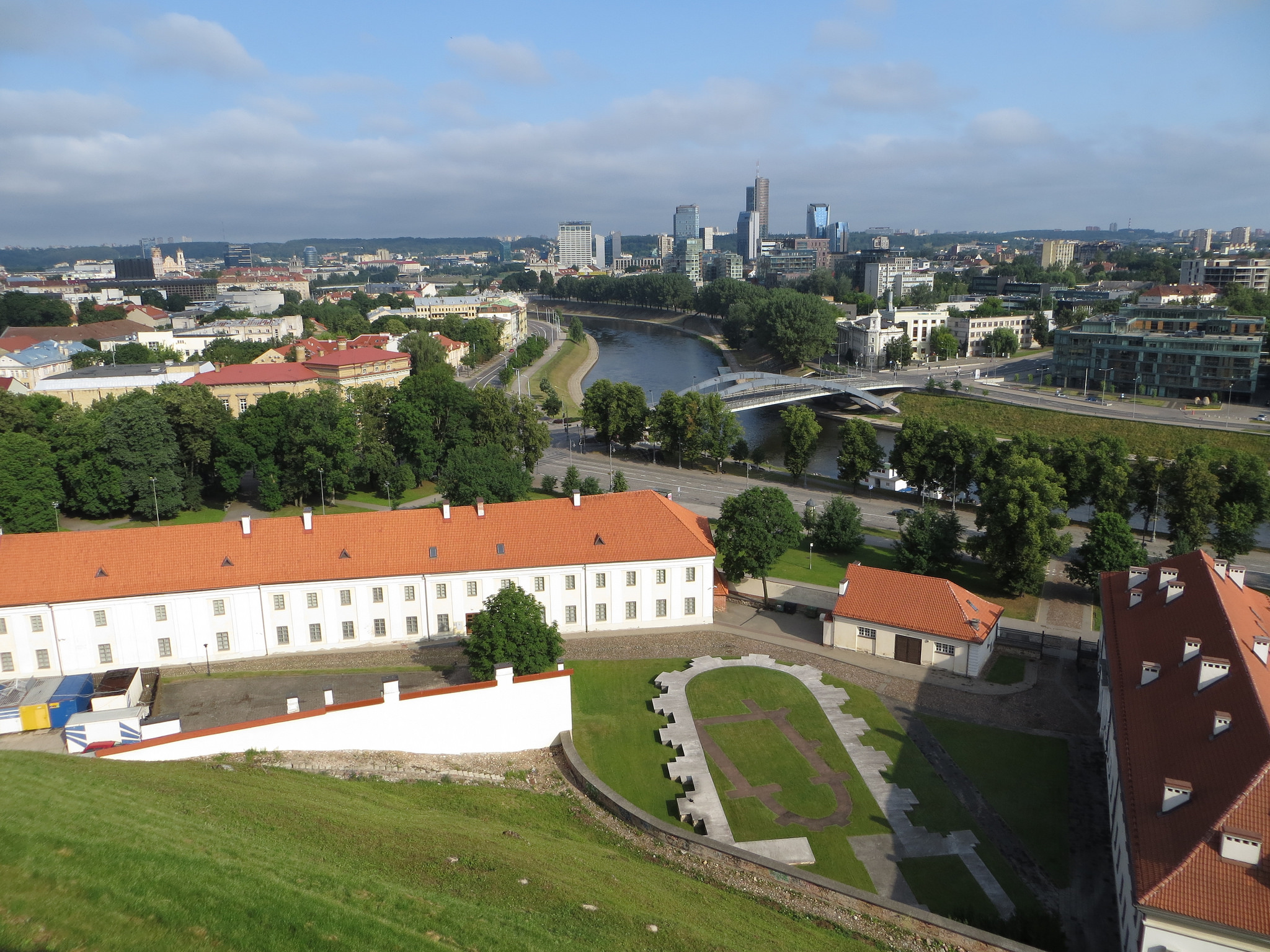 Национальный музей Литвы, двор