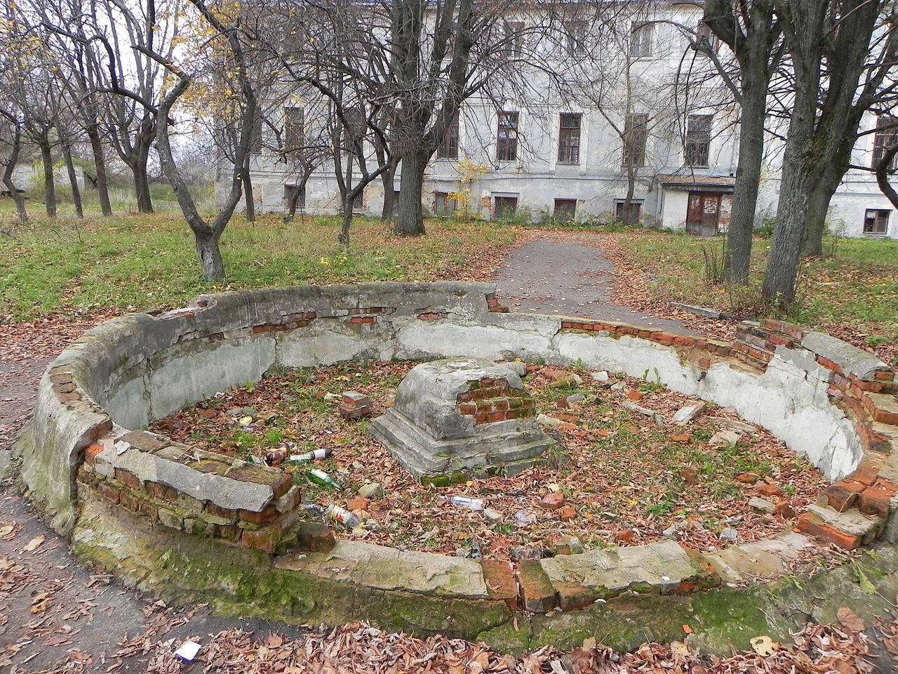 Усадьба Рай-Семеновское, фонтан
