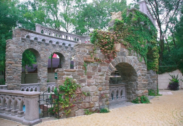 Акведук, Старый парк в Геленджике