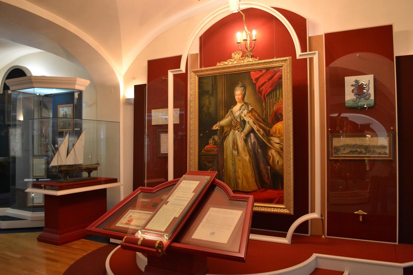 Национальный музей Республики Татарстан, портрет императрицы