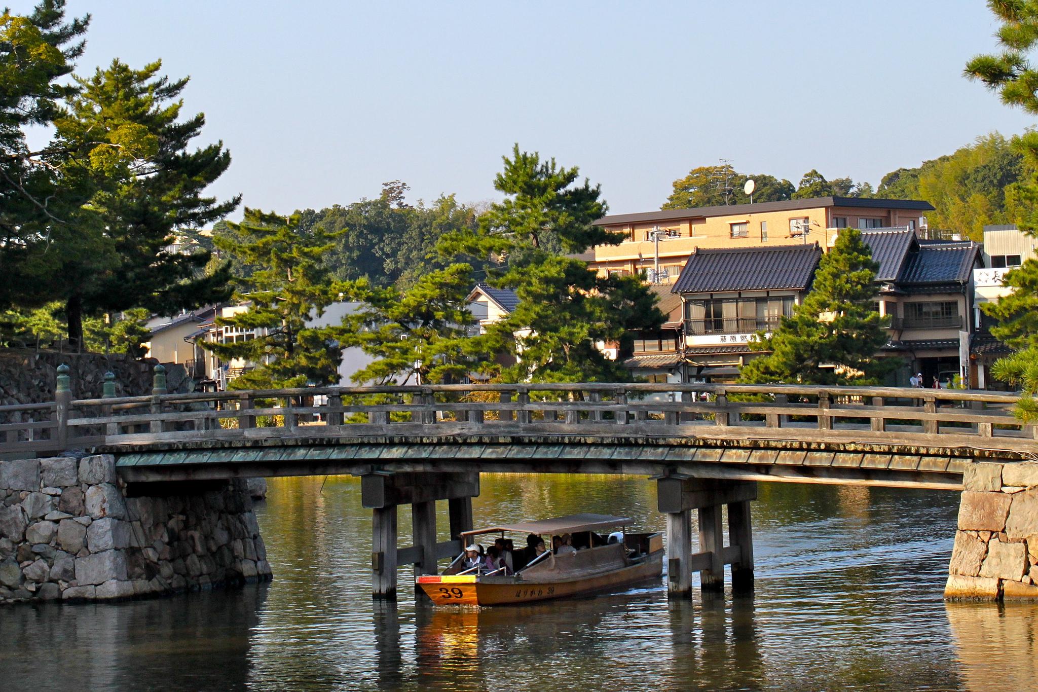 Окрестности замка Мацуэ
