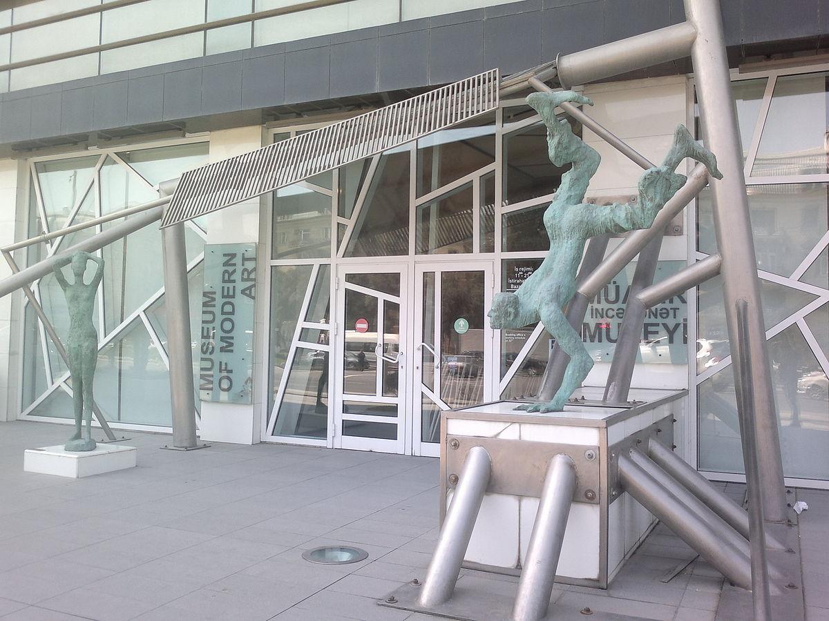 Музей современного искусства в Баку