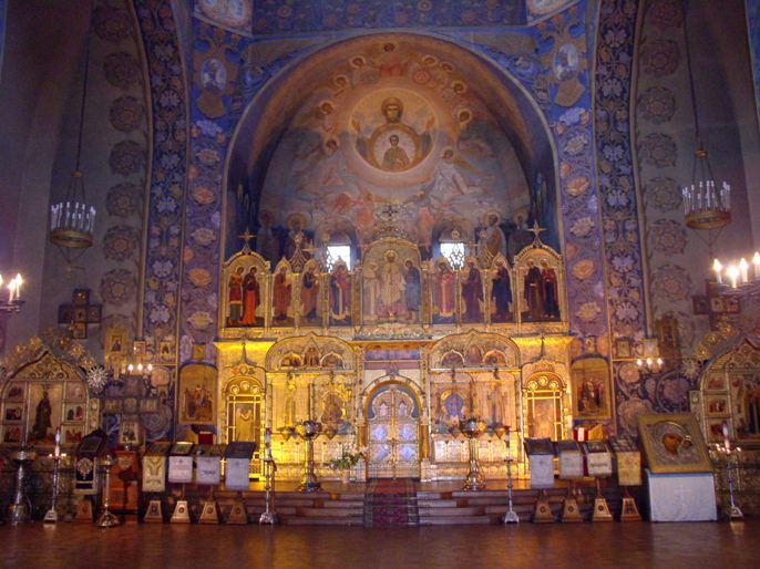 В соборе Святого Николая в Ницце