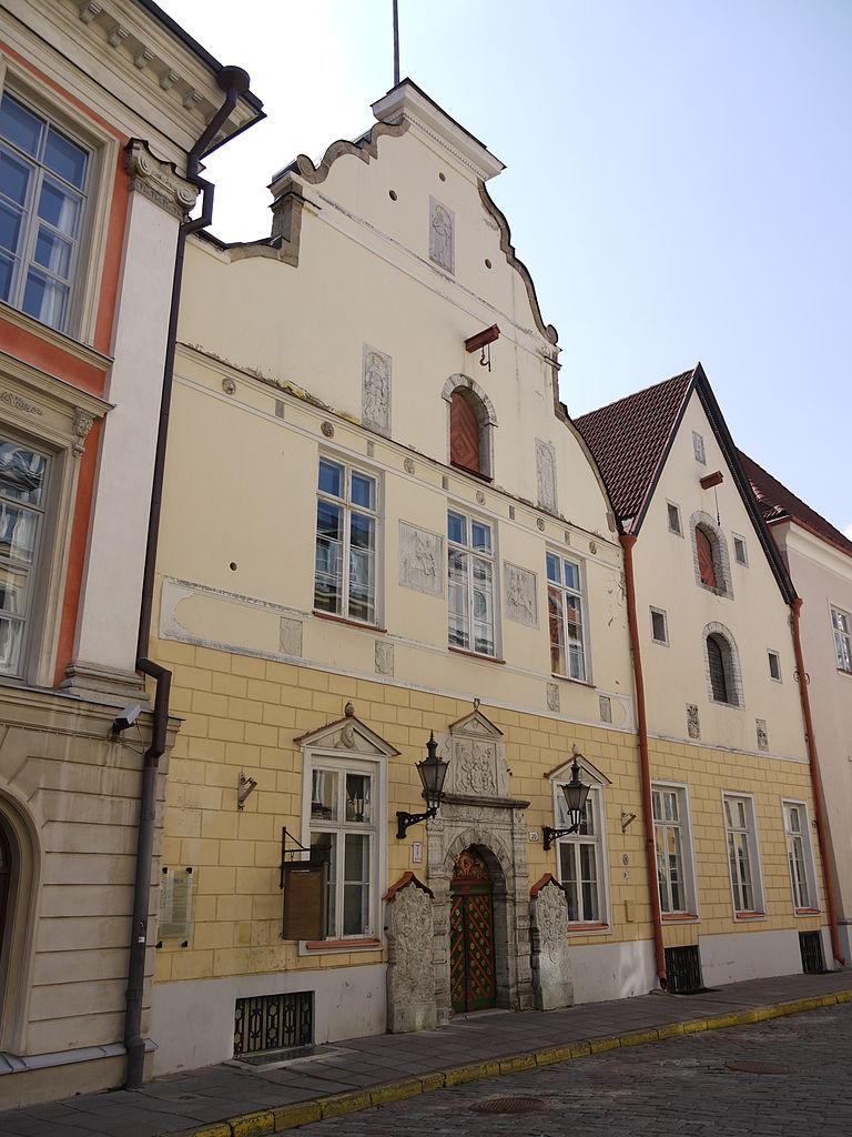 Дом Братства Черноголовых, Таллин