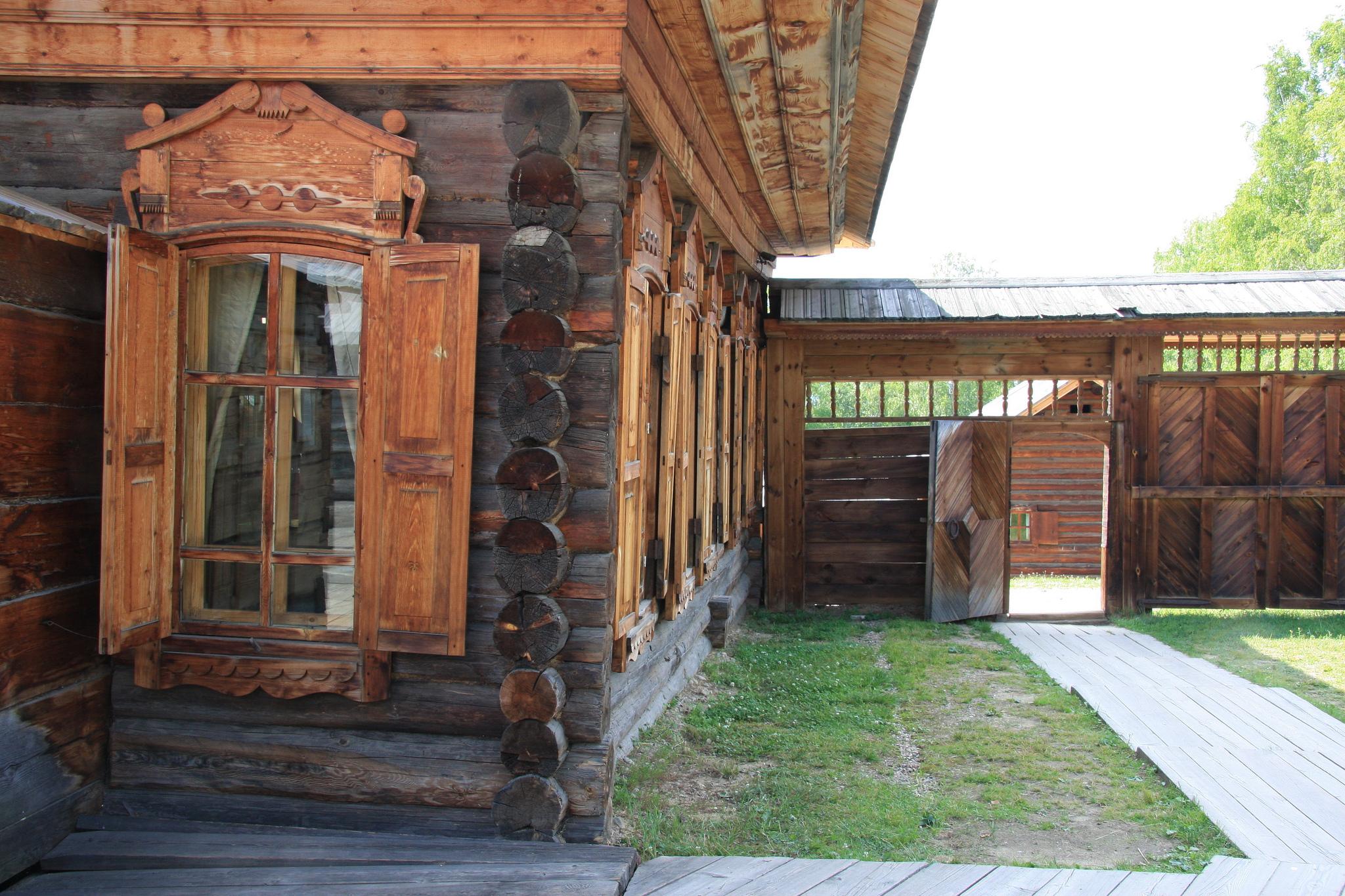 Дом в музее Тальцы, Иркутск