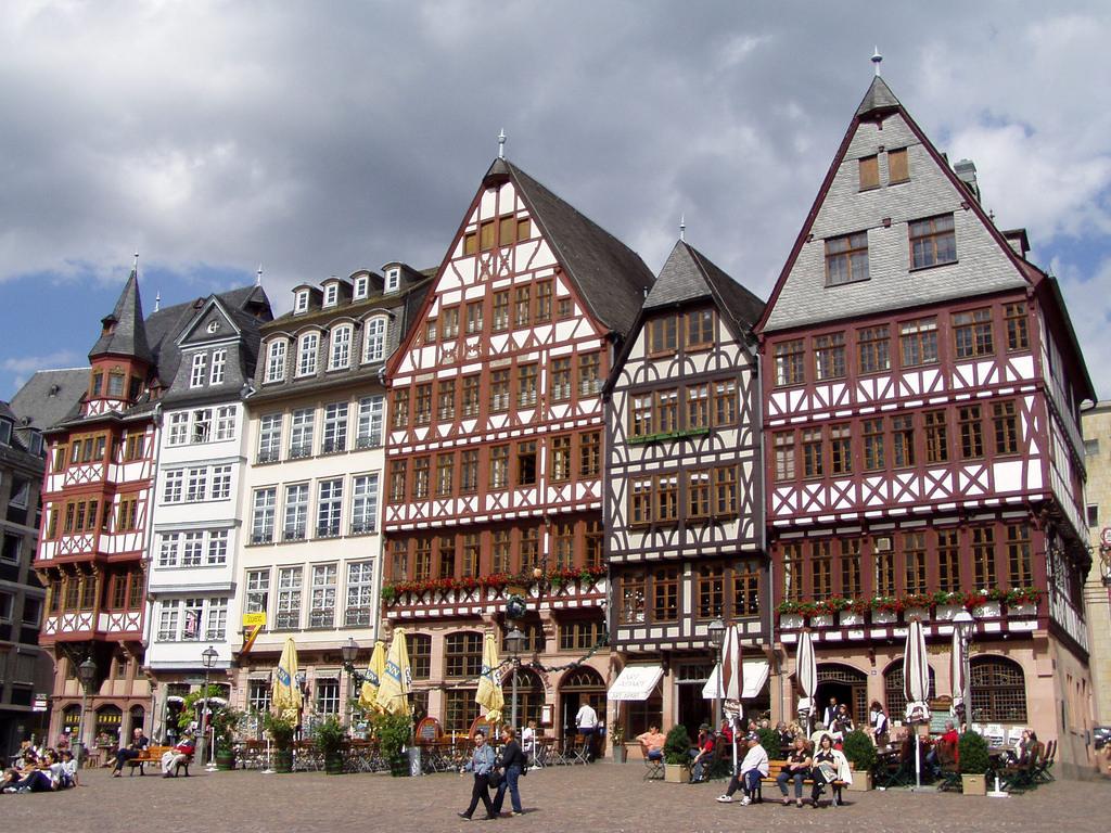 Здания на площади Рёмер, Франкфурт-на-Майне