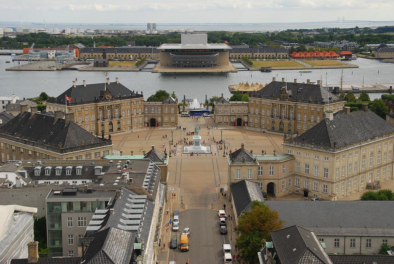 Королевский дворец Амалиенборг, Дания