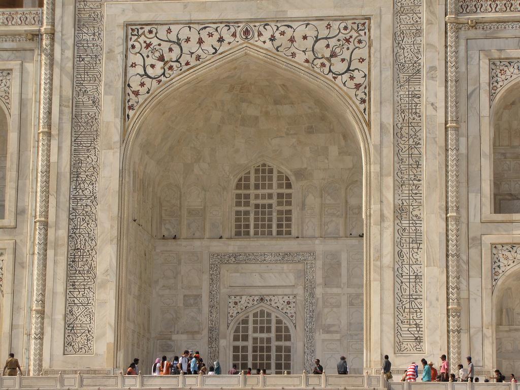 Невероятной красоты архитектура Тадж-Махала, Индия