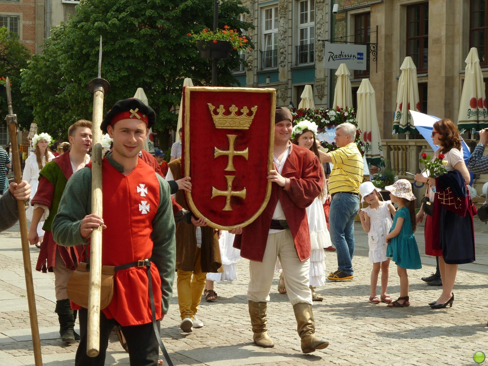 Праздничное шествие в Польше